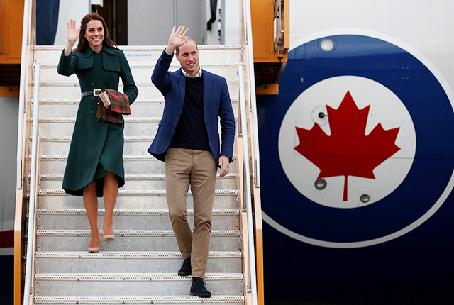 The British Royals Canadian tour: Day four
