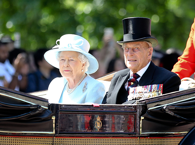 British royals celebrate Trooping the Colour parade
