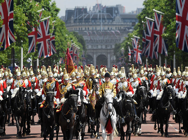 British royals celebrate Trooping the Colour parade (фото 6)