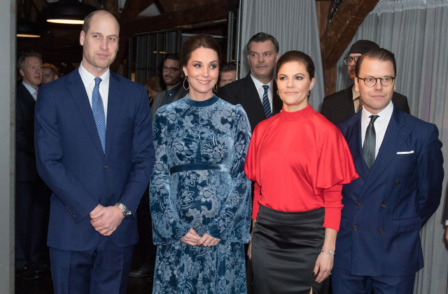 The British Royal Tour of Sweden: Day two (фото 7)