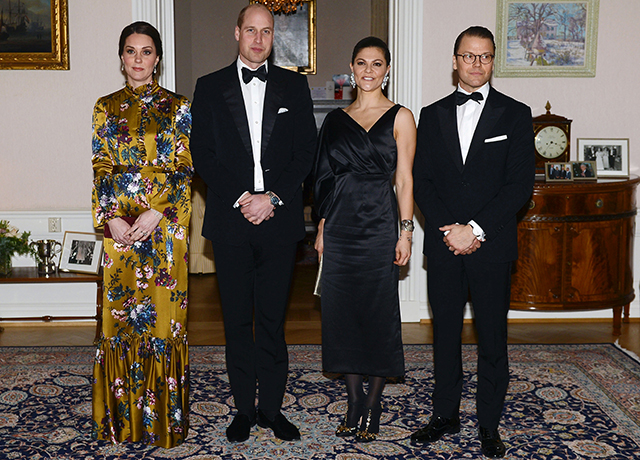Prince William and Kate Middleton begin their royal tour of Sweden and Norway (фото 2)