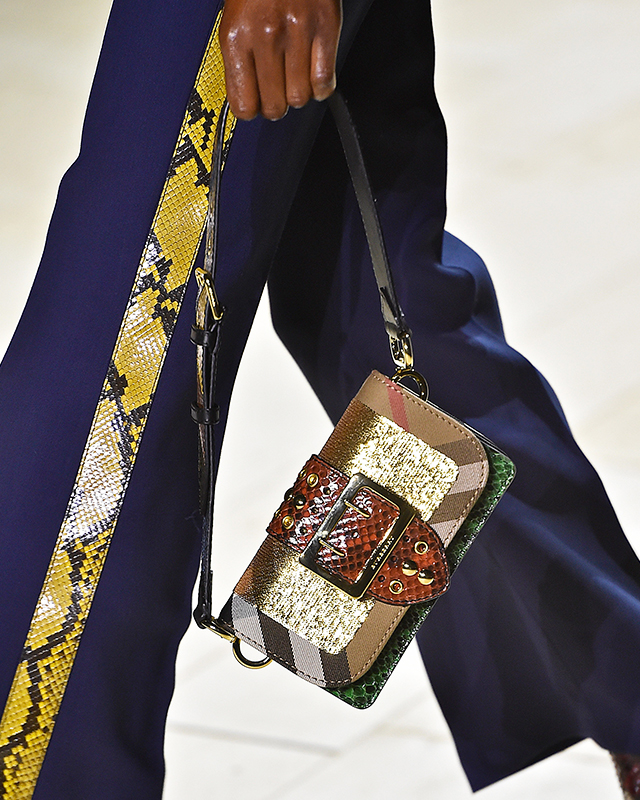 The Patchwork Bag by Burberry