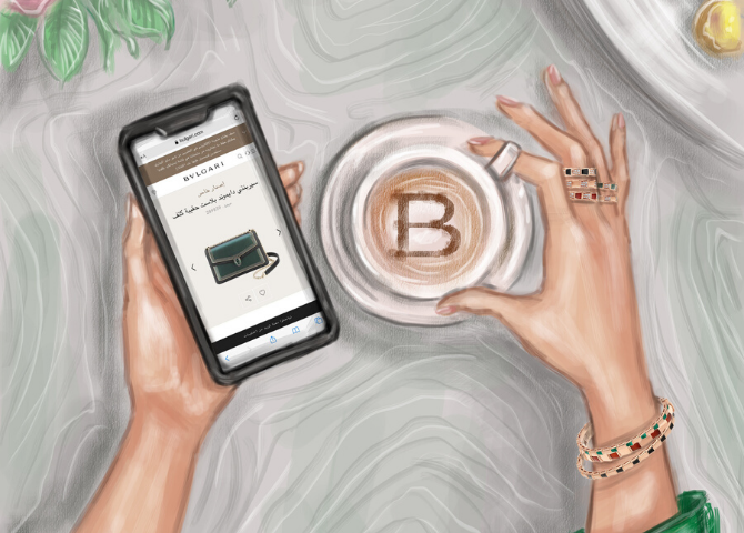 Bvlgari launches a new e-commerce platform in the UAE (фото 2)
