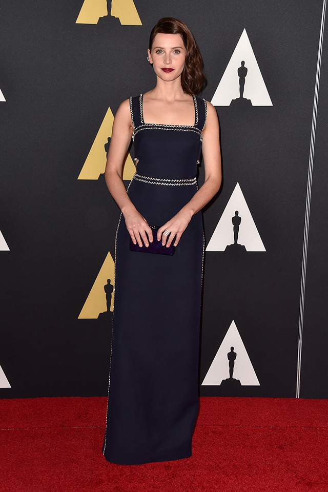 Stars assemble for Hollywood's Governors Awards (фото 9)