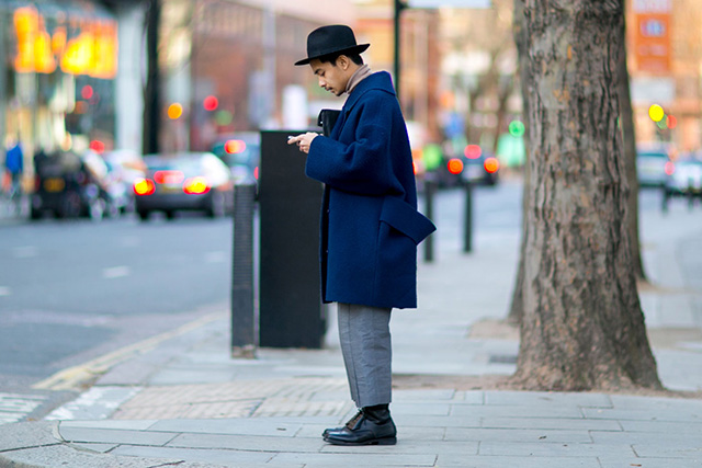 The London Collections Men AW15: Street Style Day 3 (фото 10)