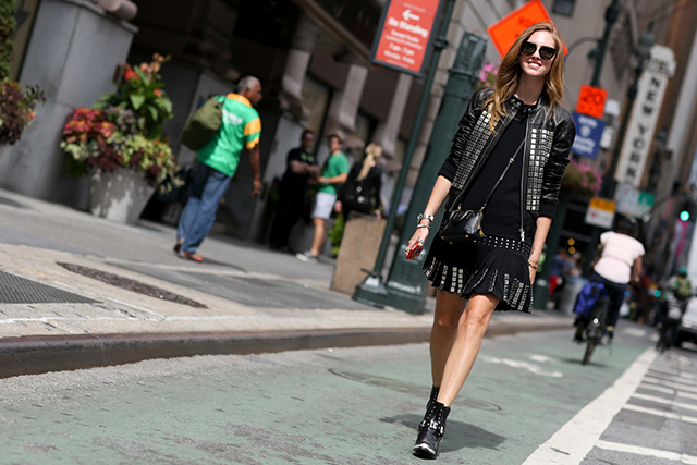 New York Fashion Week SS15 Street Style: Part VI (фото 10)