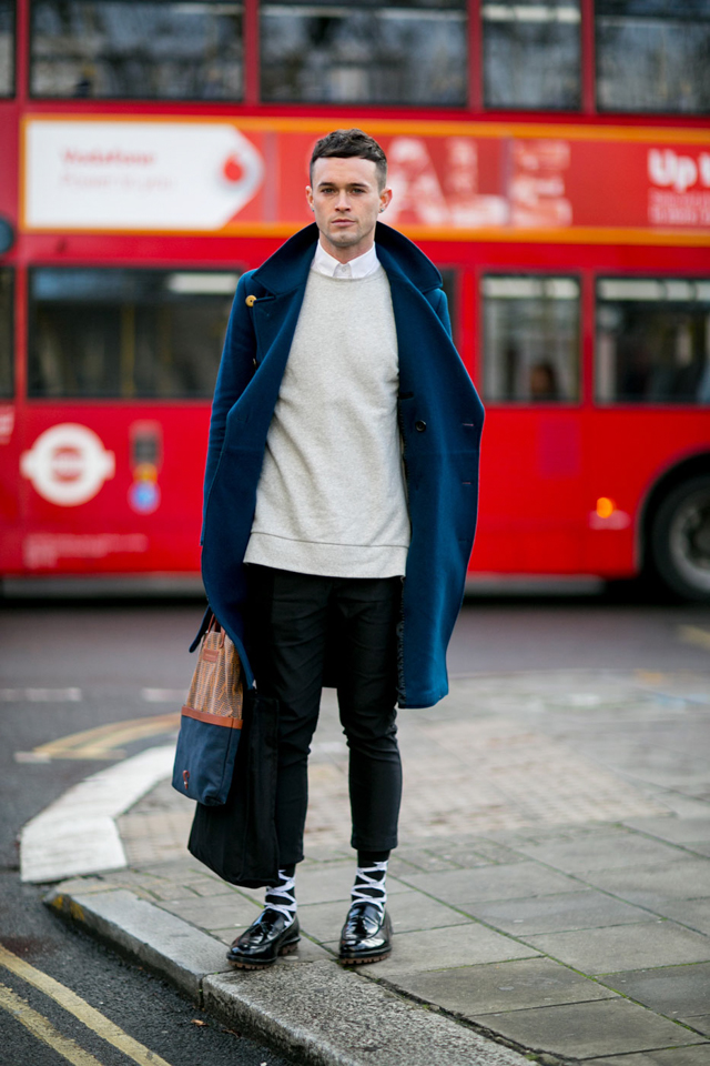 The London Collections Men Aw15 Street Style Day 2 Buro 24 7