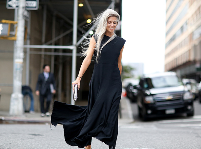 New York Fashion Week SS15 Street Style: Part V (фото 11)