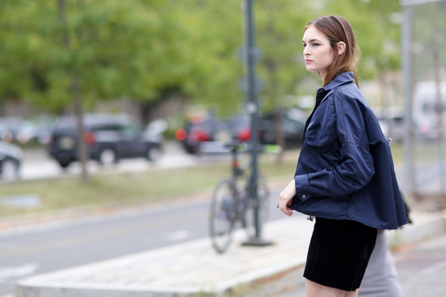 New York Fashion Week SS15 Street Style: Part VI (фото 11)