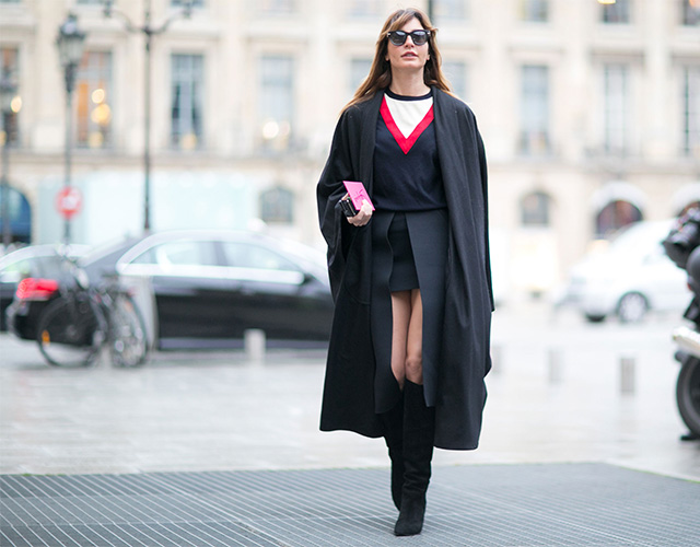 Paris Haute Couture SS15: Street Style Part I (фото 11)