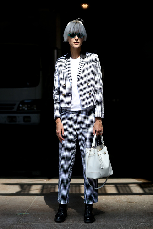 New York Fashion Week SS15 Street Style: Part IV (фото 11)