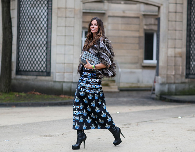 Paris Haute Couture SS15: Street Style Part I (фото 12)
