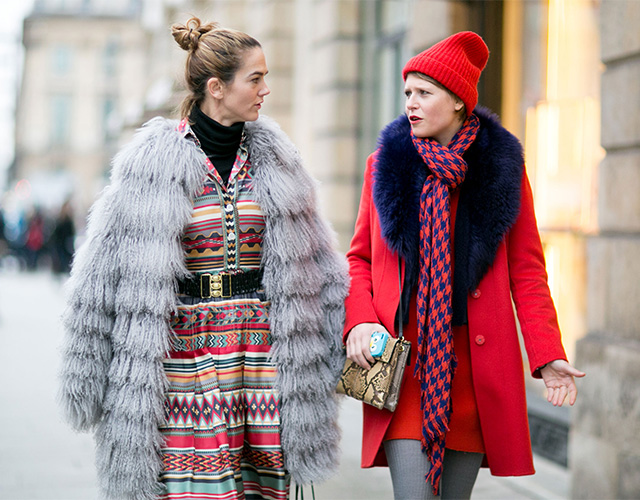 Paris Haute Couture SS15: Street Style Part I (фото 13)
