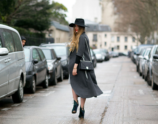 Paris Haute Couture SS15: Street Style Part I (фото 15)