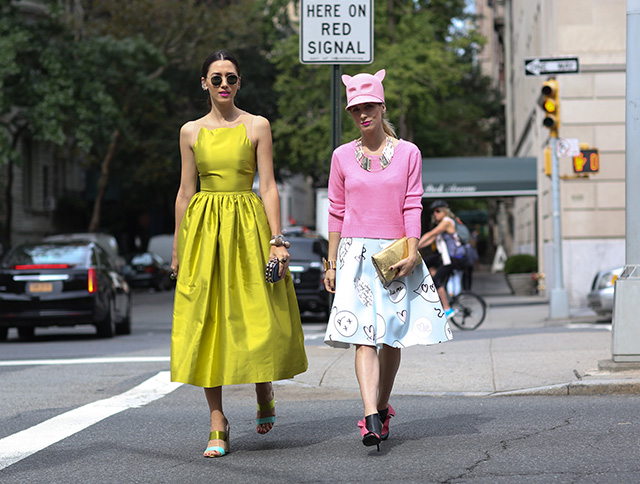 New York Fashion Week SS15 Street Style: Part V (фото 16)