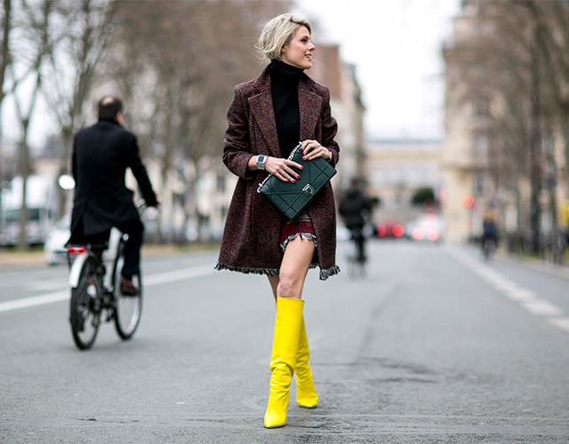 Paris Haute Couture SS15: Street Style Part I (фото 17)