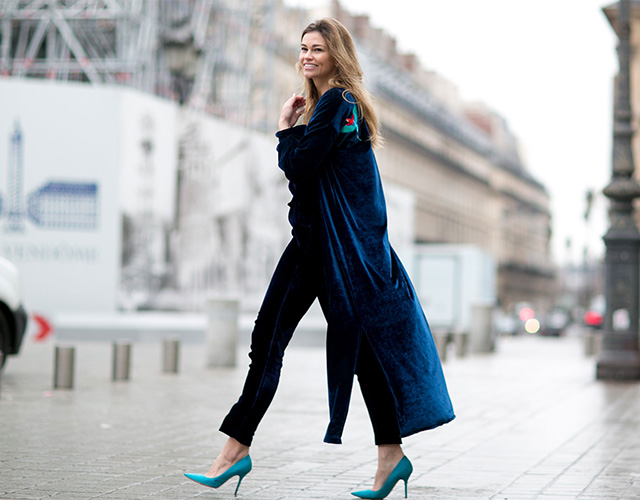 Paris Haute Couture SS15: Street Style Part I (фото 18)