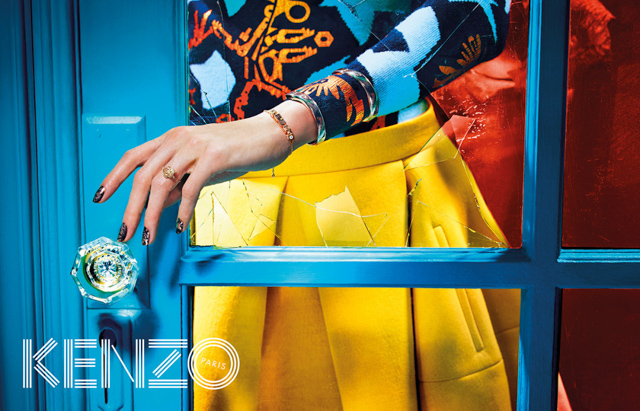 Further footage for Kenzo Autumn/Winter 14 is released (фото 1)