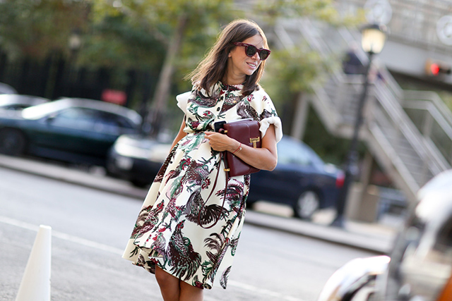 New York Fashion Week SS15 Street Style: Part IV (фото 18)
