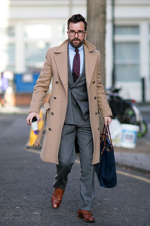 The London Collections Men AW15: Street Style Day 3 (фото 1)