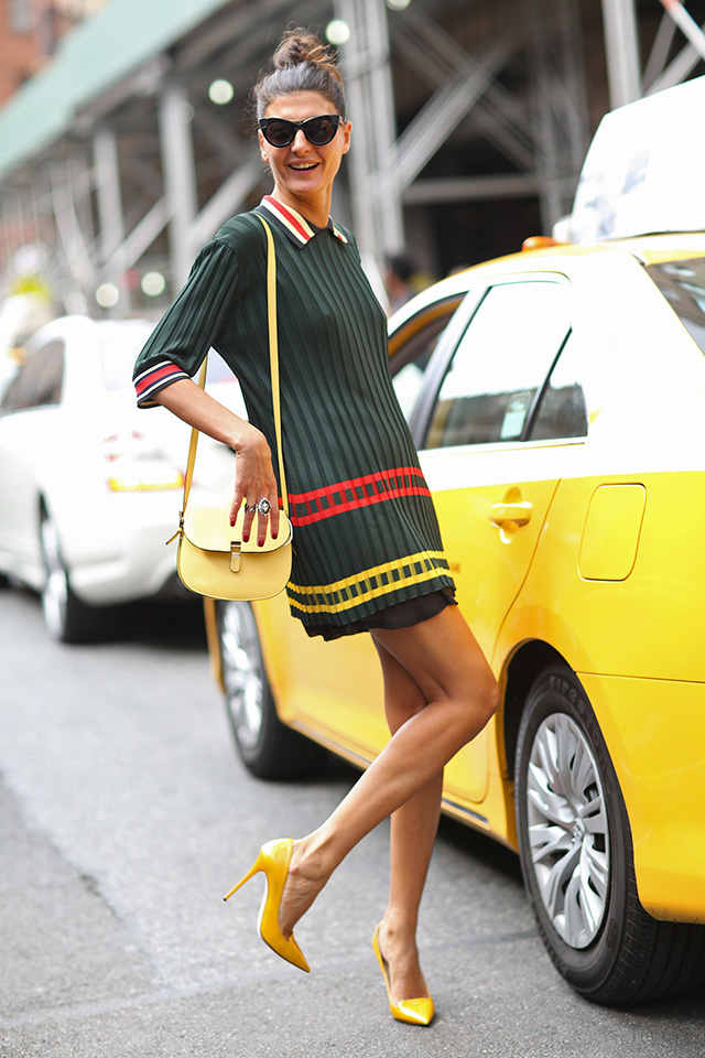 New York Fashion Week SS15 Street Style: Part VI (фото 1)
