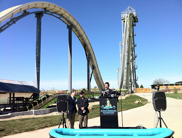 The world's tallest water slide to launch Texas (фото 1)