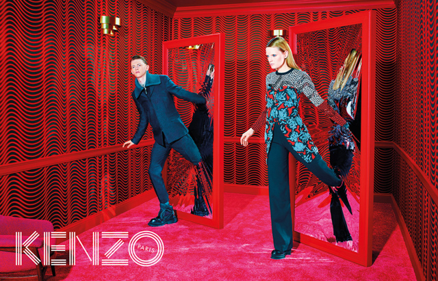 Further footage for Kenzo Autumn/Winter 14 is released (фото 2)