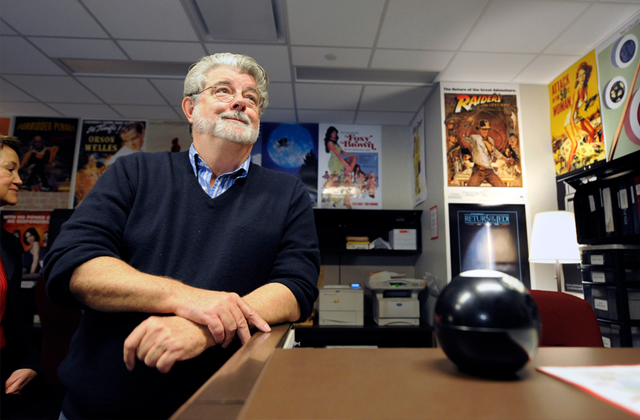 39 star wars 39 creator george lucas opens a museum in chicago for Star wars museum california