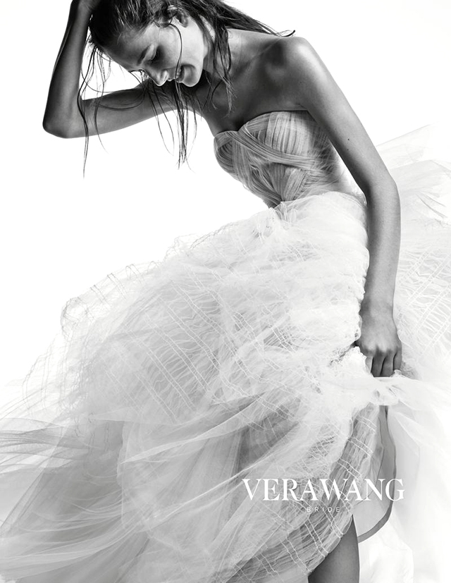 Vera Wang's new bridal campaign for Autumn/Winter 14 (фото 1)