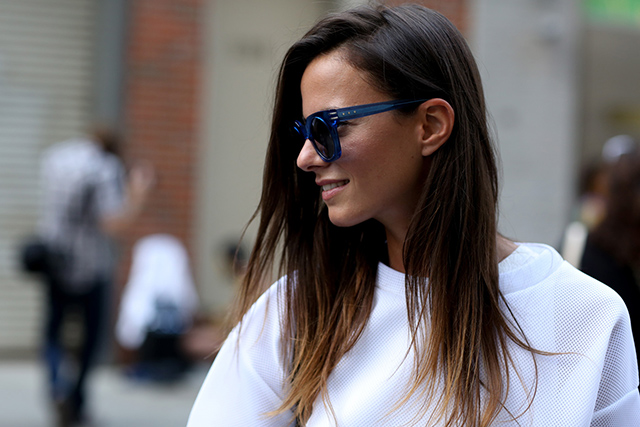 New York Fashion Week SS15 Street Style: Part IV (фото 1)