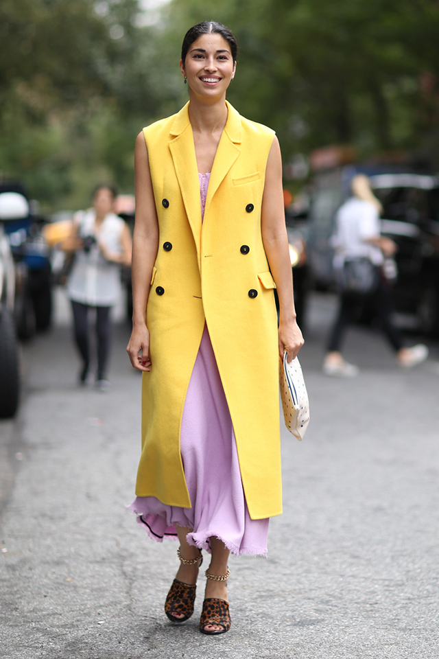 New York Fashion Week SS15 Street Style: Part VI (фото 2)