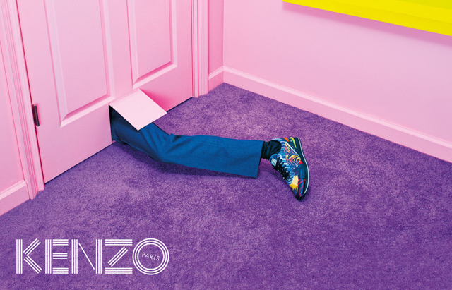 Further footage for Kenzo Autumn/Winter 14 is released (фото 3)