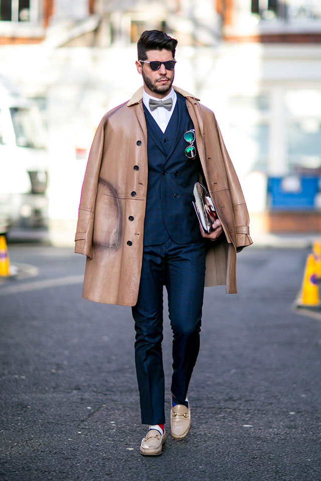 The London Collections Men AW15: Street Style Day 3 (фото 3)