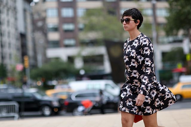 New York Fashion Week SS15 Street Style: Part VI (фото 3)