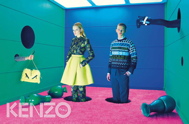 Further footage for Kenzo Autumn/Winter 14 is released (фото 4)