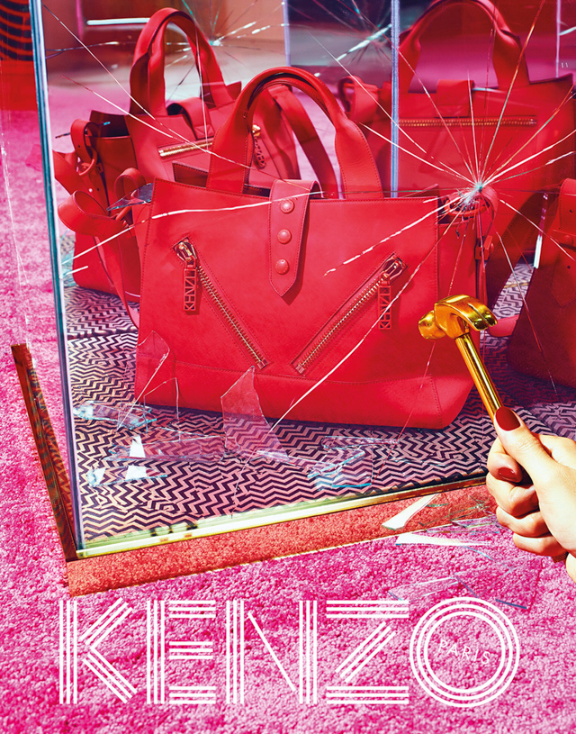 Further footage for Kenzo Autumn/Winter 14 is released (фото 5)