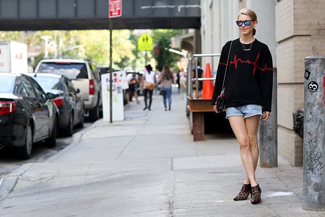 New York Fashion Week SS15 Street Style: Part IV (фото 4)