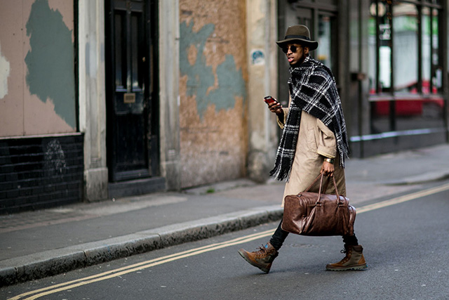 The London Collections Men AW15: Street Style Day 3 (фото 6)