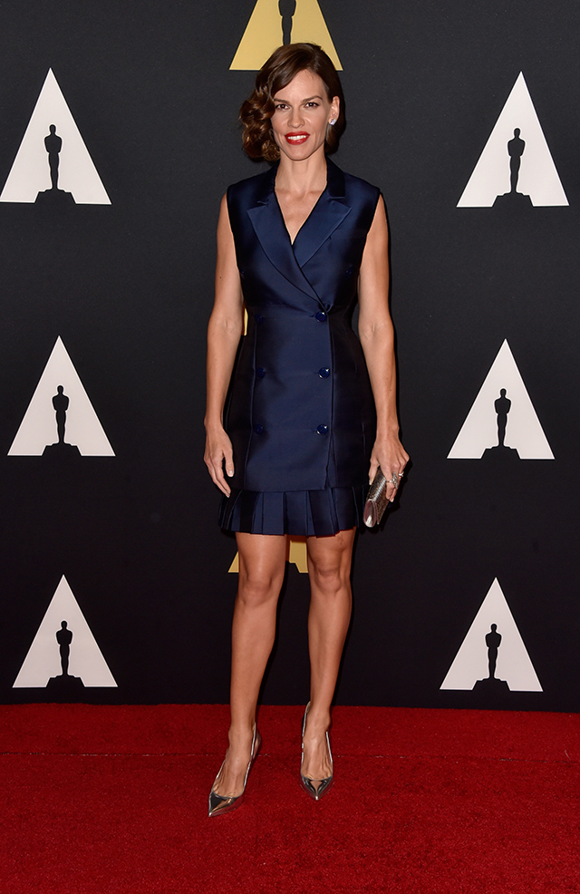 Stars assemble for Hollywood's Governors Awards (фото 7)