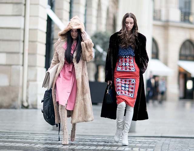 Paris Haute Couture SS15: Street Style Part I (фото 7)