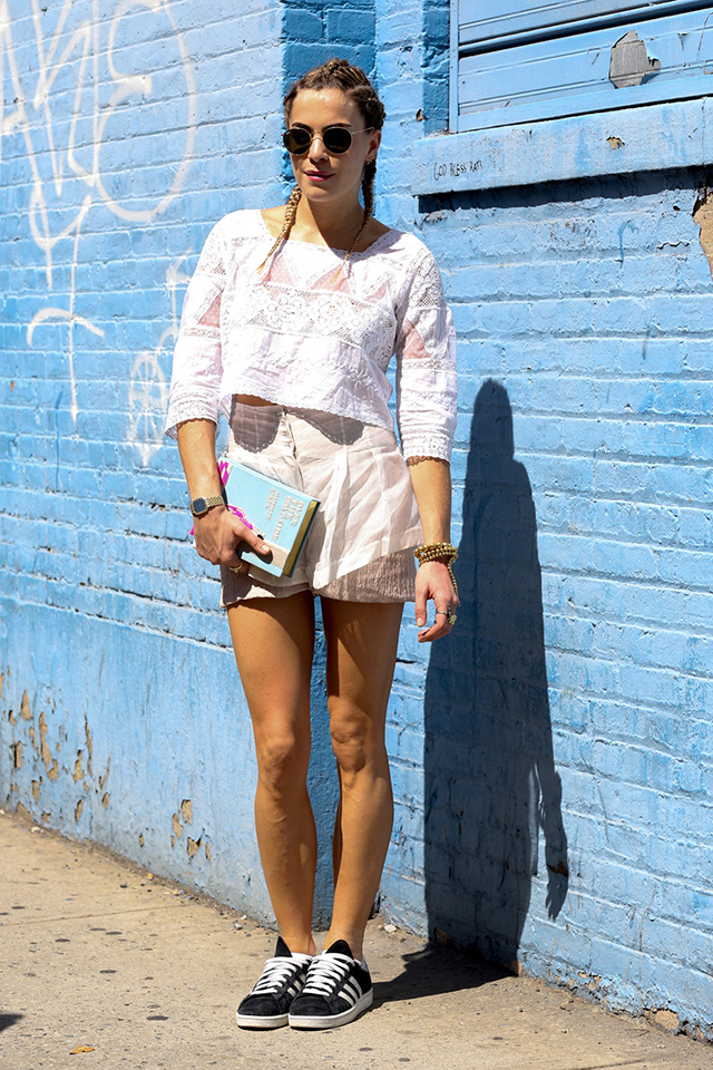 New York Fashion Week SS15 Street Style: Part IV (фото 7)