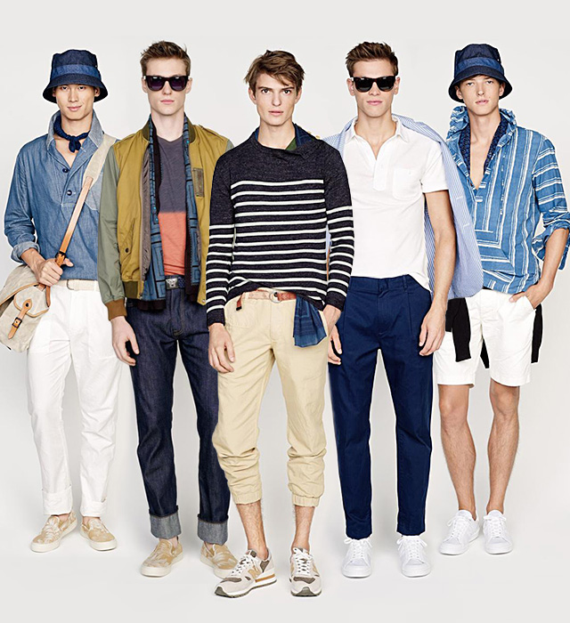 First look j crew spring summer 15 buro 24 7 for J crew mens looks