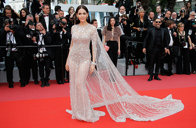 2018 Cannes Film Festival: Red carpet arrivals (фото 11)