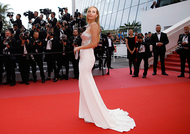 2018 Cannes Film Festival: Red carpet arrivals (фото 9)