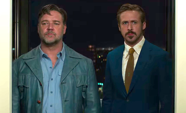 The Nice Guys starring Russell Crowe and Ryan Gosling