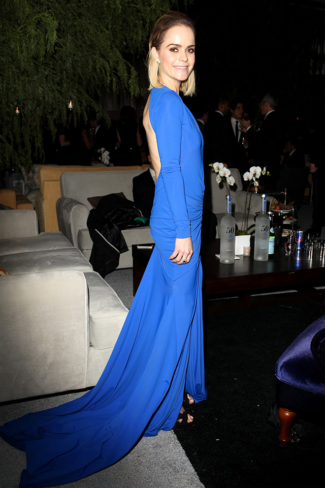 Cara Delevingne, Jennifer Lopez and more at Golden Globes after-party (фото 30)