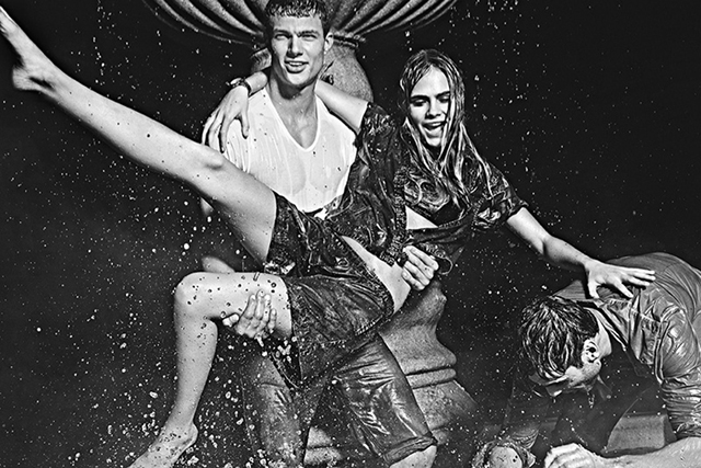 Cara Delevingne fronts Pepe Jeans campaign