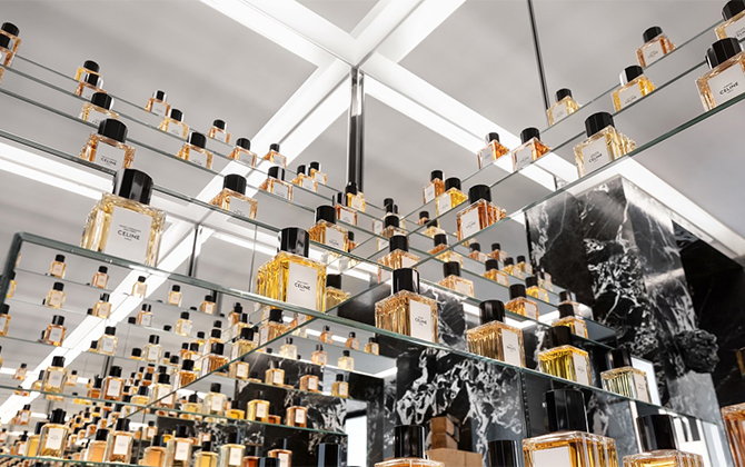 Celine opens new perfume boutique in the heart of Paris (фото 1)