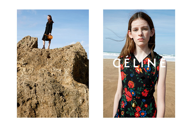 First look: Céline, Sonia Rykiel, Donna Karan and more share SS15 campaign teasers (фото 1)