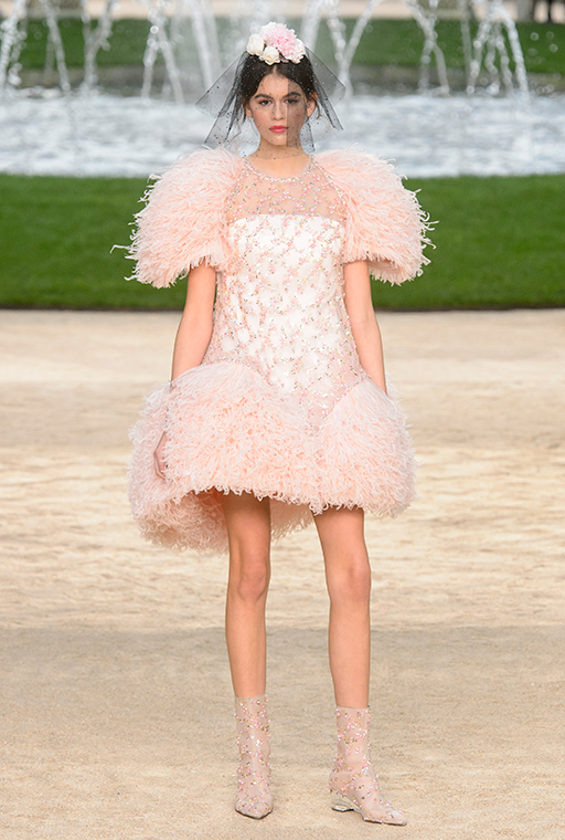Kaia Gerber makes couture debut at Chanel